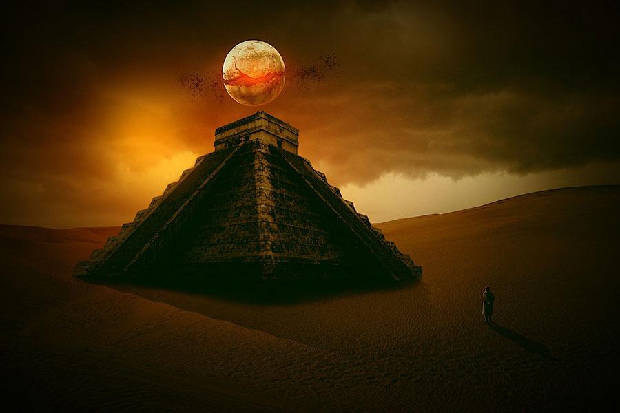 ritos mayas sangrientos