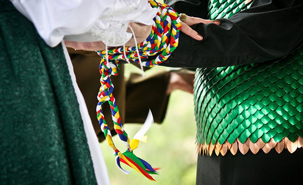 handfasting colores