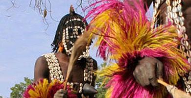 ritos y danzas africanas