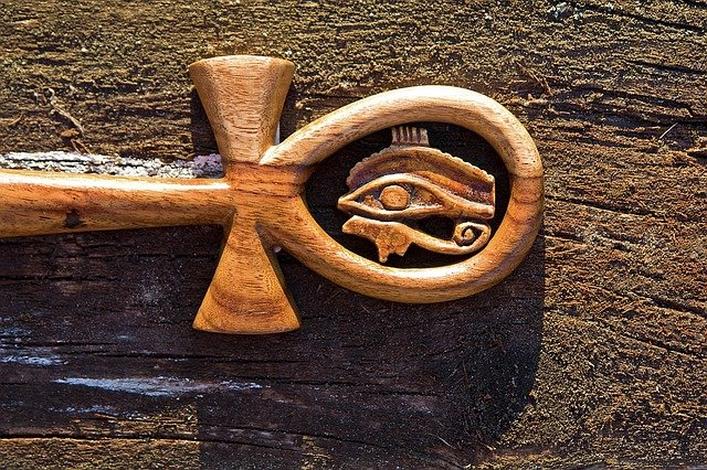 ank ojo de horus egipcio